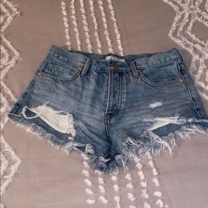 Free People shorts size 25